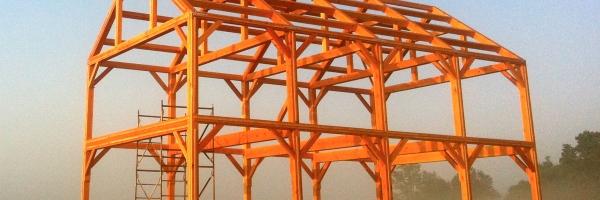 Hugh Lofting Timber Framing - Catskills Timber Frame
