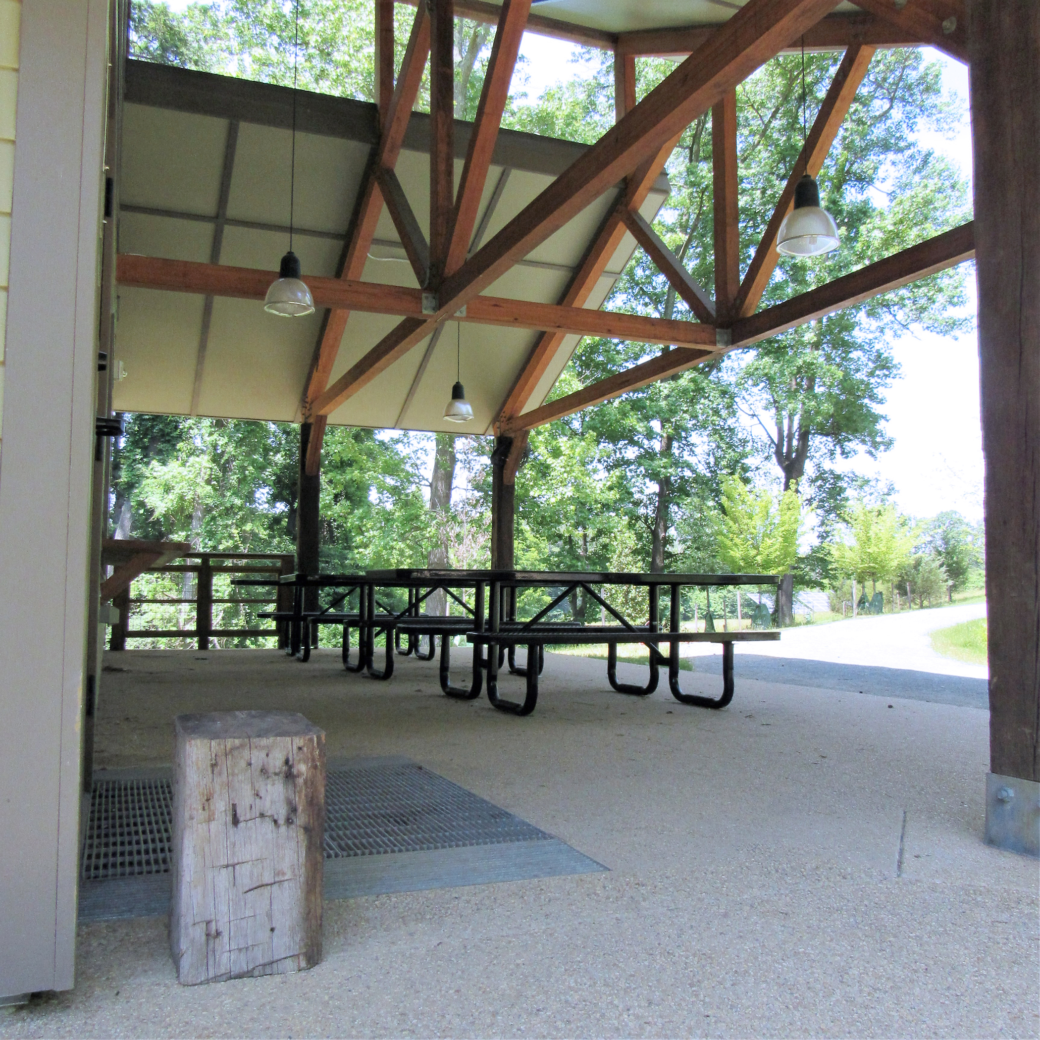 Cafritz Foundation Environmental Center Patio