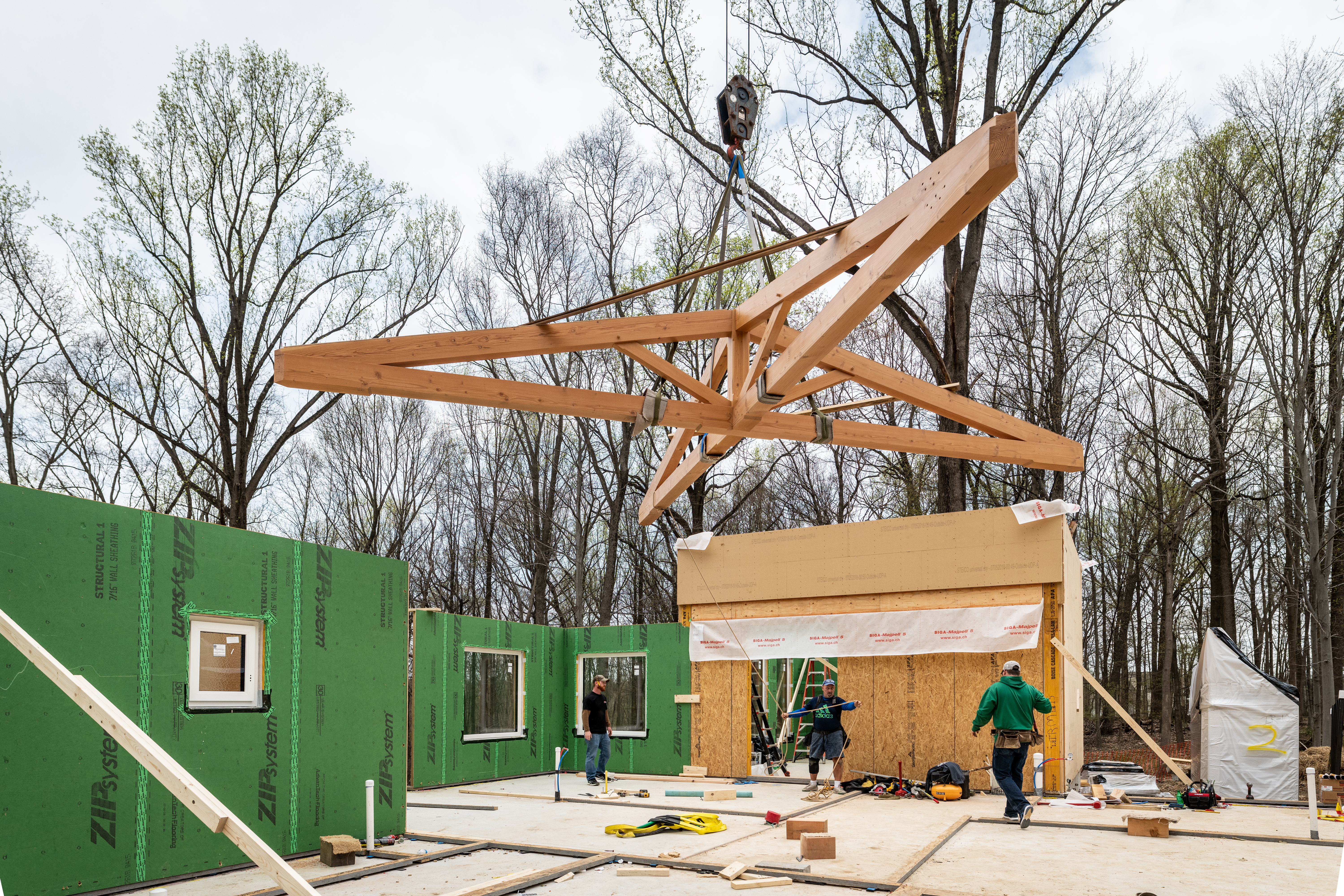 Coatesville High Performance House Construction