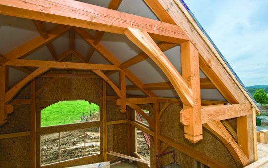 Building Enclosure Timber Frame