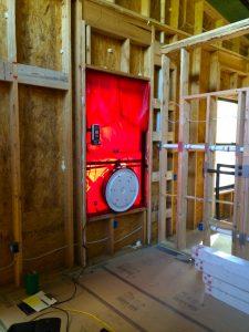 Kamp Kaolin Blower Door Test