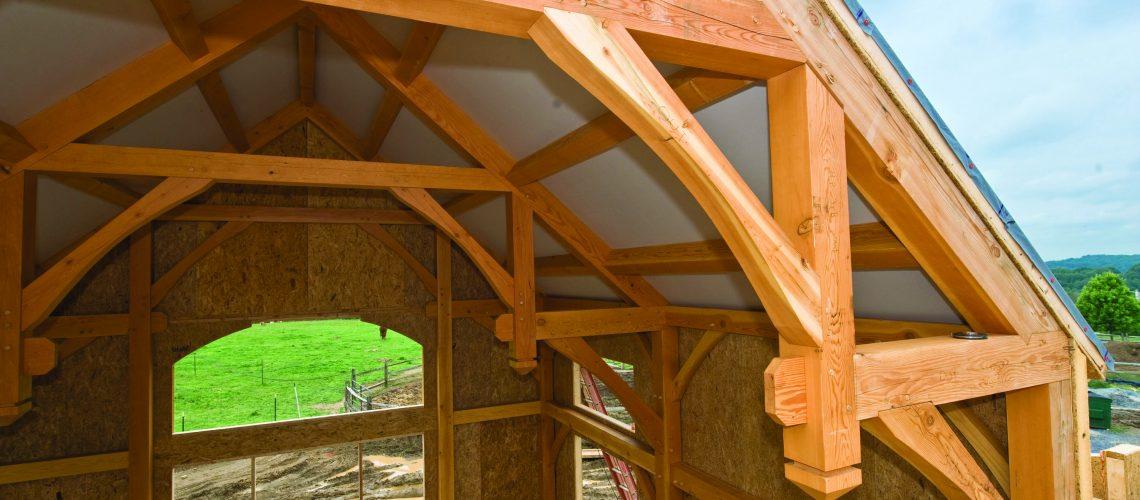 Building Enclosure Timber Frame